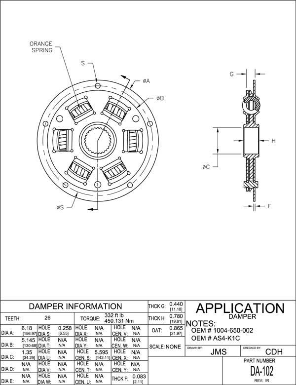 Ajami summuti - BorgWarner AS4-K1C