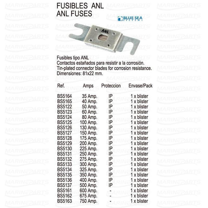 "1/""long 5 X GM TYPE 35 AMP fuses.."