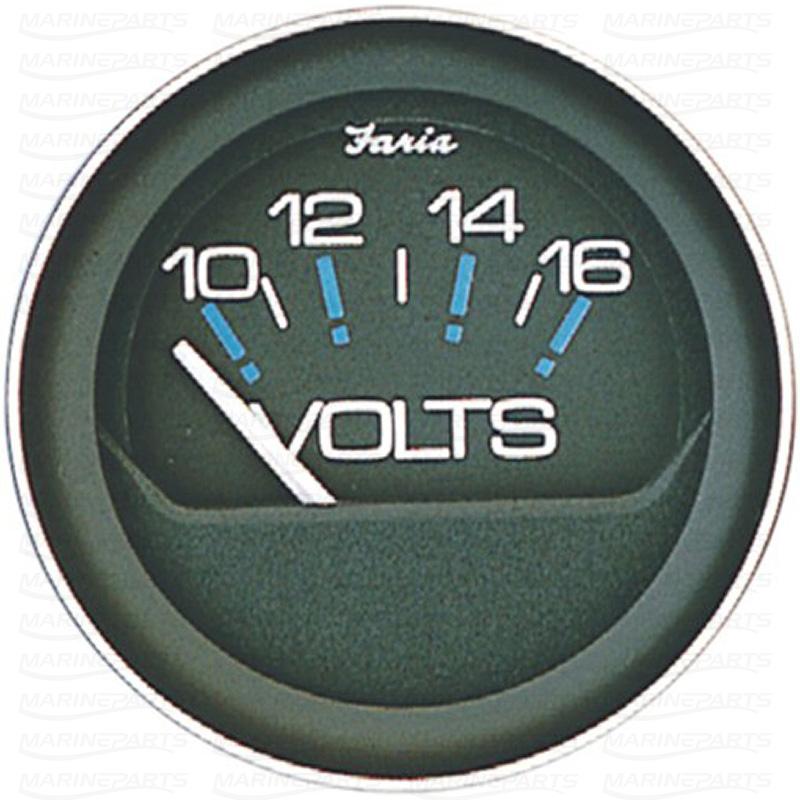 Voltmeeter 51 mm & 12V (