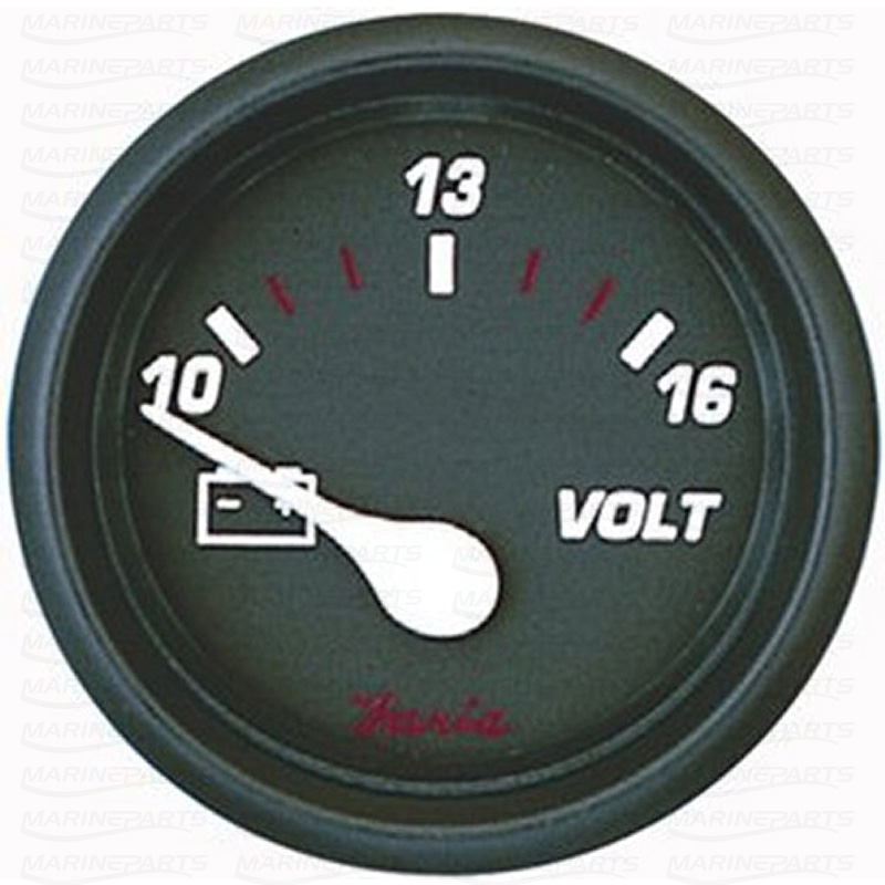 Voltmeeter 51 mm & 12 V (