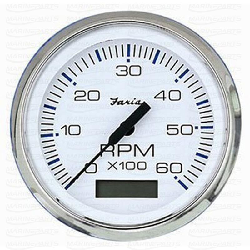 Digitaalne tahhomeeter 100 mm & 4000 rpm (valge roostevabast terasest