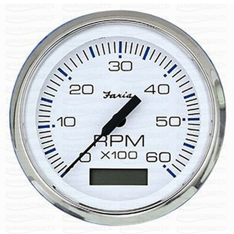 Digitaalne tahhomeeter 100 mm & 7000 rpm (valge roostevabast terasest