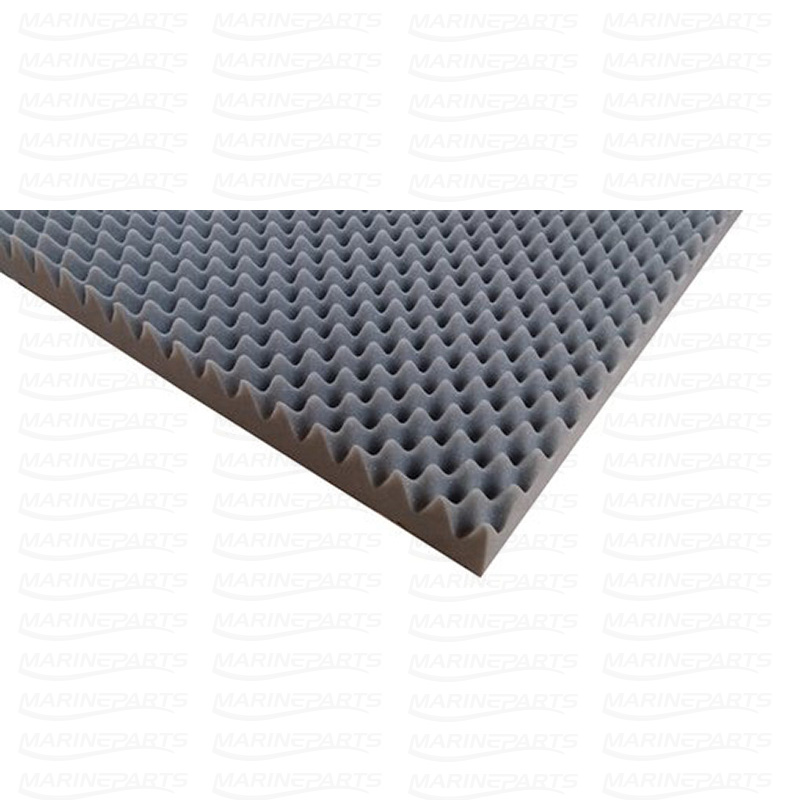 Lydisolationsmateriale 2x1 meter