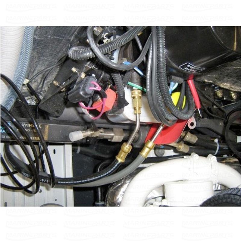 Hydraulisk styringspakke indenbords med servo til MERC Alpha / Bravo og Volvo 280/290