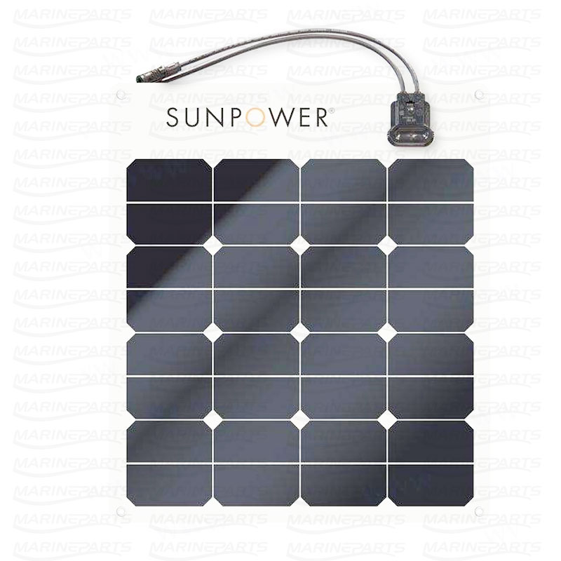 Päikesepaneel 653 x 556 x 3,2 mm 50 W