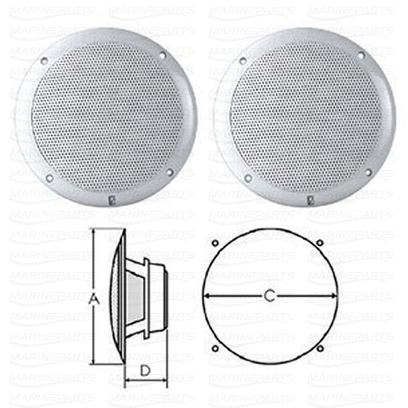 INTEGRAL GRILL SPEAKERS 5