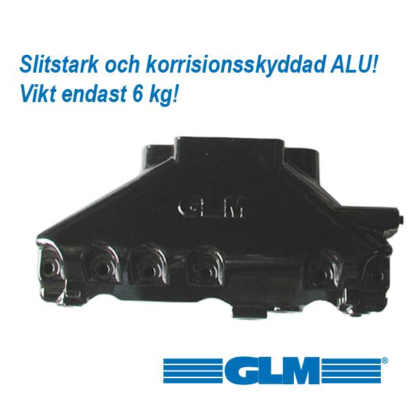 Avgaslimpa ALUMINIUM V6 4.3 ltr.