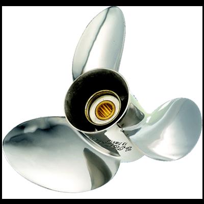 Propeller S/S 3-blade 17.5