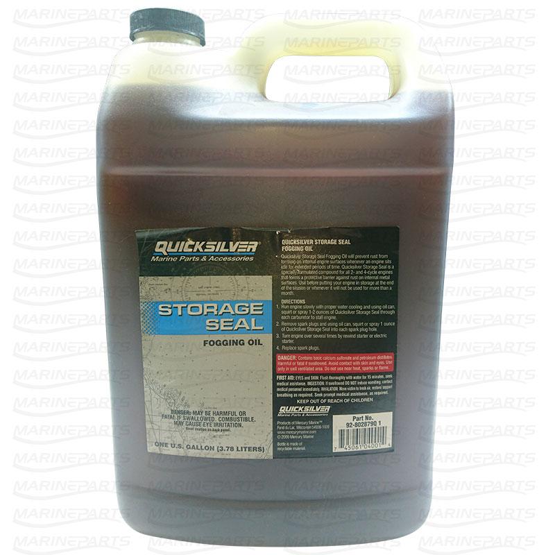 Quicksilver moottorin talvisuojaukseen Storage Seal Fogging Oil 3.78L