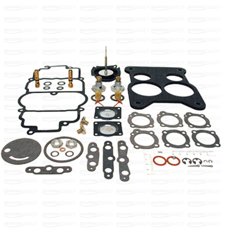 Carburetor Kit for Volvo Penta 740A/M55A (Holley 4-bbl carburetor