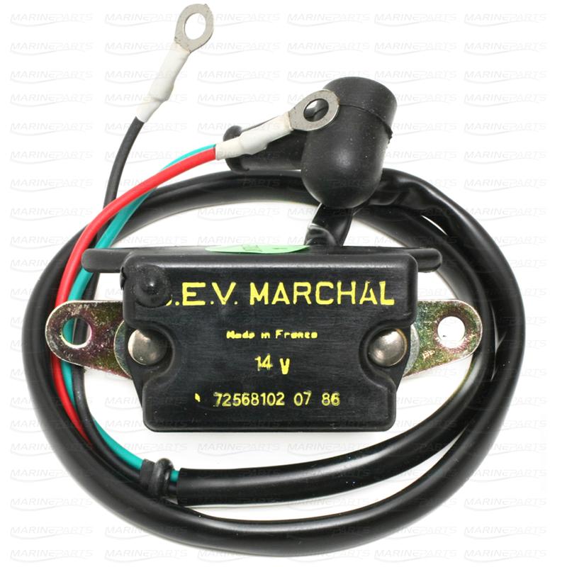 Voltage Regulator for Volvo Penta SEV-Marchal 14 v