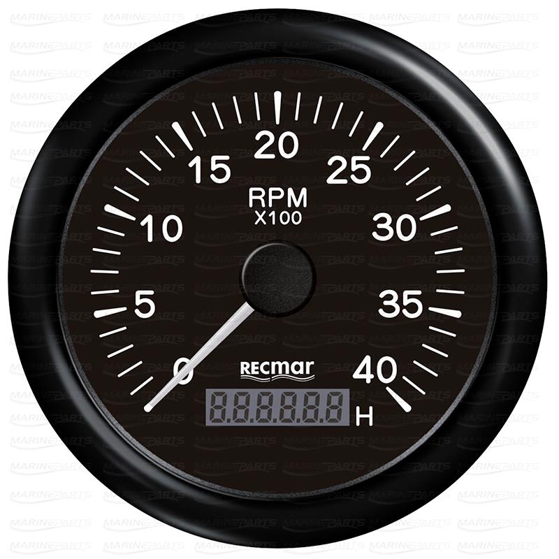 Must tahhomeeter 4000 rpm