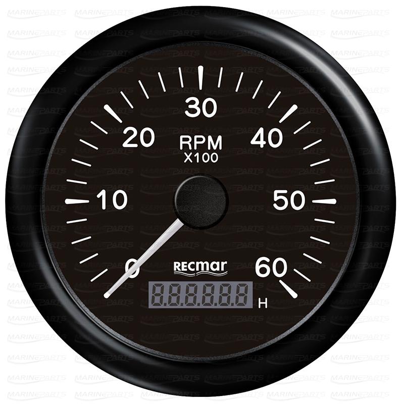 Must tahhomeeter 6000 rpm