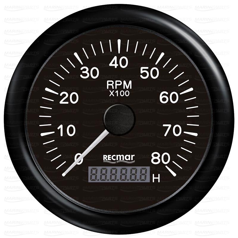 Must tahhomeeter 8000 rpm
