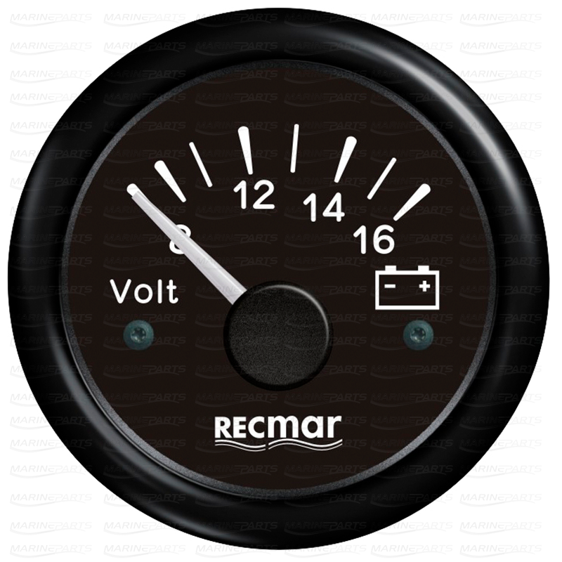 Voltmeeter 8-16 V must