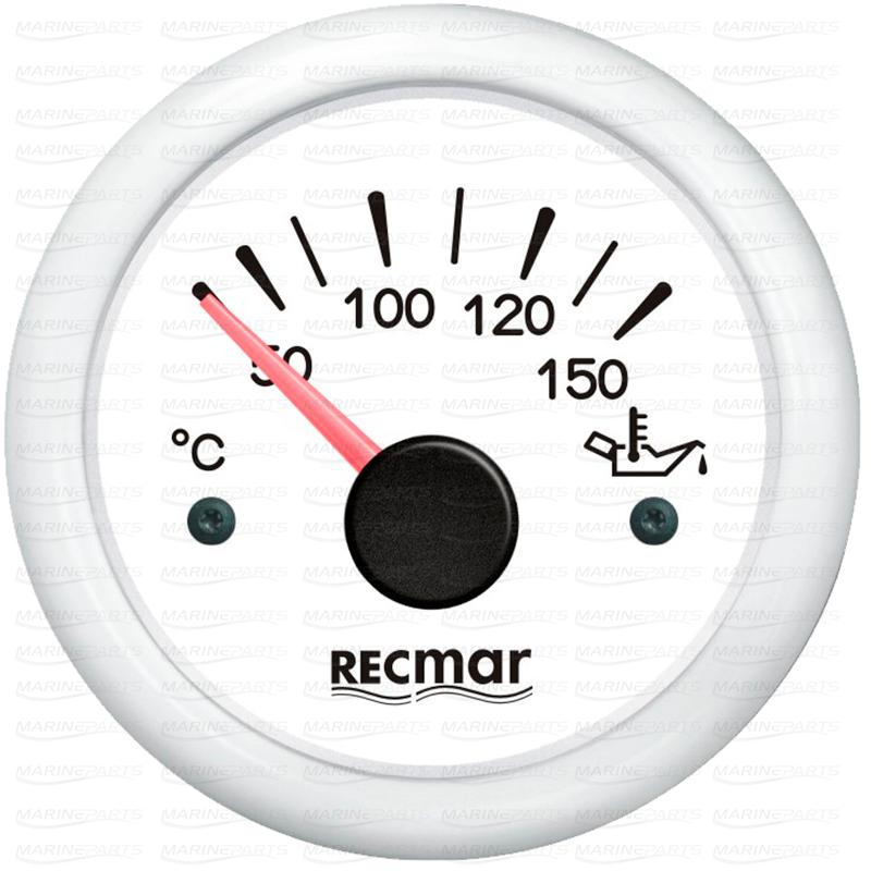 Valge õlitemperatuuri näidik 50-150 kraadi