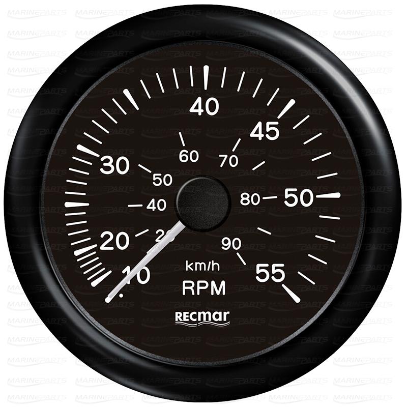 Must spidomeeter 0-55 mph
