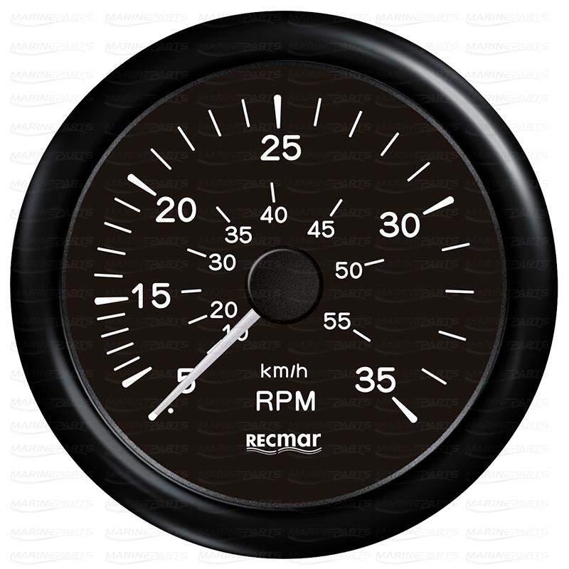 Must spidomeeter 0-35 mph