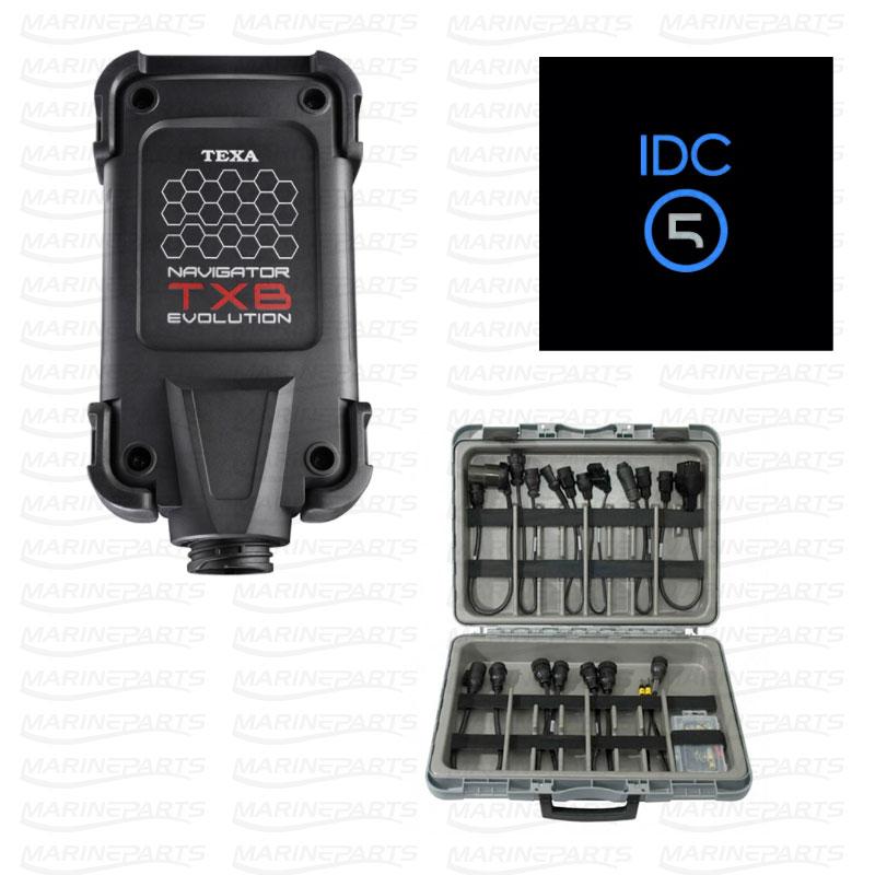 Navigator TXB Evolution, IDC5 mjukvara samt adapter- och kabelsats