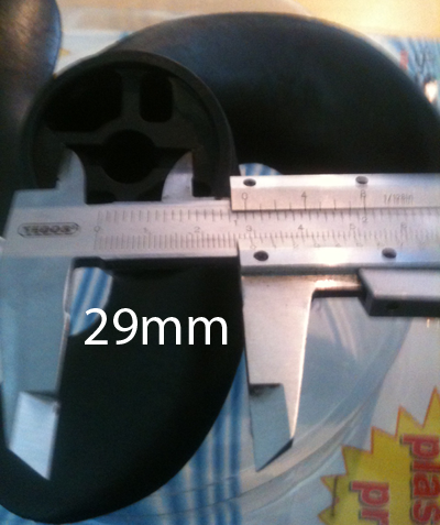 Propeller plastik til Johnson / Evinrude / Mercury / Tohatsu motorer