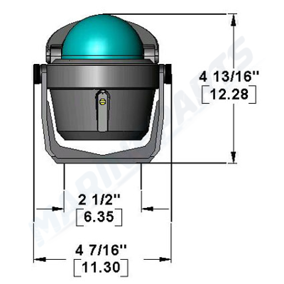 Kompas ritchie exporer B-15 sort
