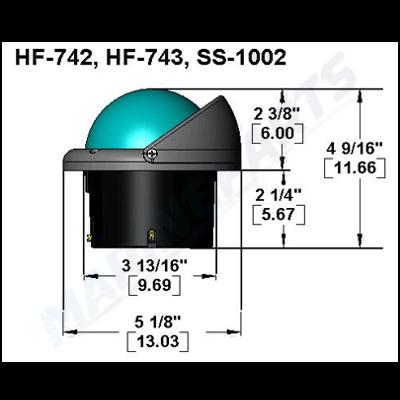 Kompas Ritchie Helmsmand HF-743 sort