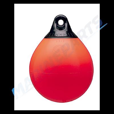Bøje / Fender 31x41 cm rød