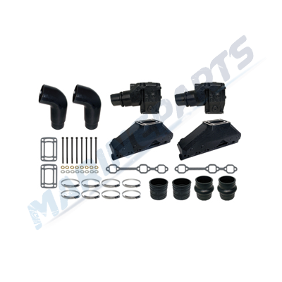 Manifold Conversion kit OMC V6 1-piece, marineparts eu