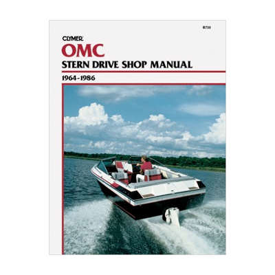 OMC ahtrimootori käsiraamat: 1964-1986