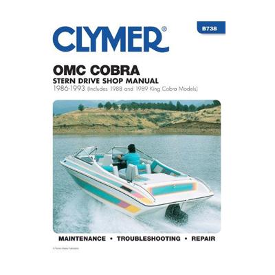 OMC Cobra ahtrimootori käsiraamat: 1986-1993