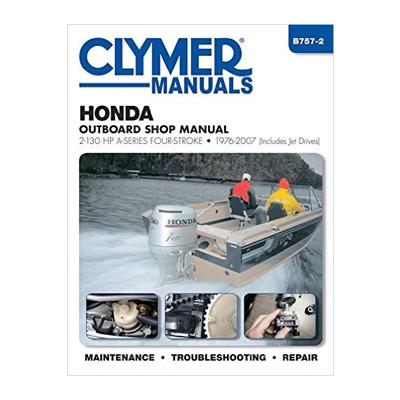 Honda päramootori käsiraamat: 4-taktiline 2-130 hp A-seeria 1976-2007