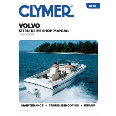 Volvo ahtrimootori käsiraamat: 1968-1993