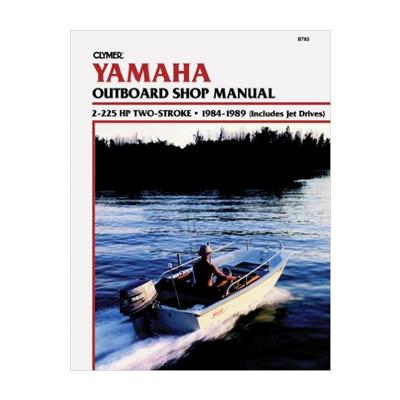 Yamaha päramootori käsiraamat: 2-225 hp 2-taktiline 1984-1989