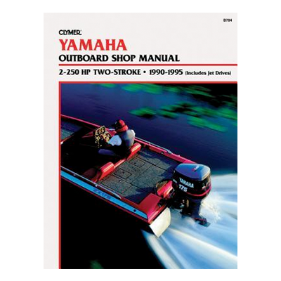 Yamaha päramootori käsiraamat: 2-250 hp 2-taktiline 1990-1995