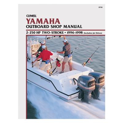 Yamaha päramootori käsiraamat: 2-250 hp 2-taktiline 1996-1998