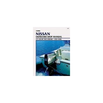 Nissani päramootori käsiraamat: 2,5-140 hp 1992-2000