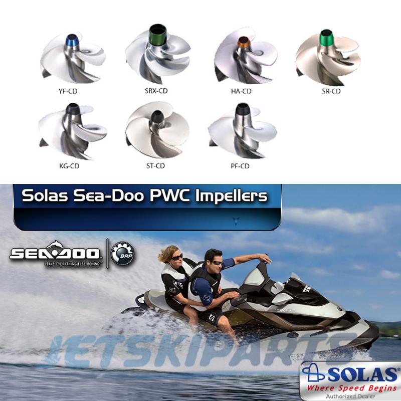 Siipipyörät Sea-Doo RST
