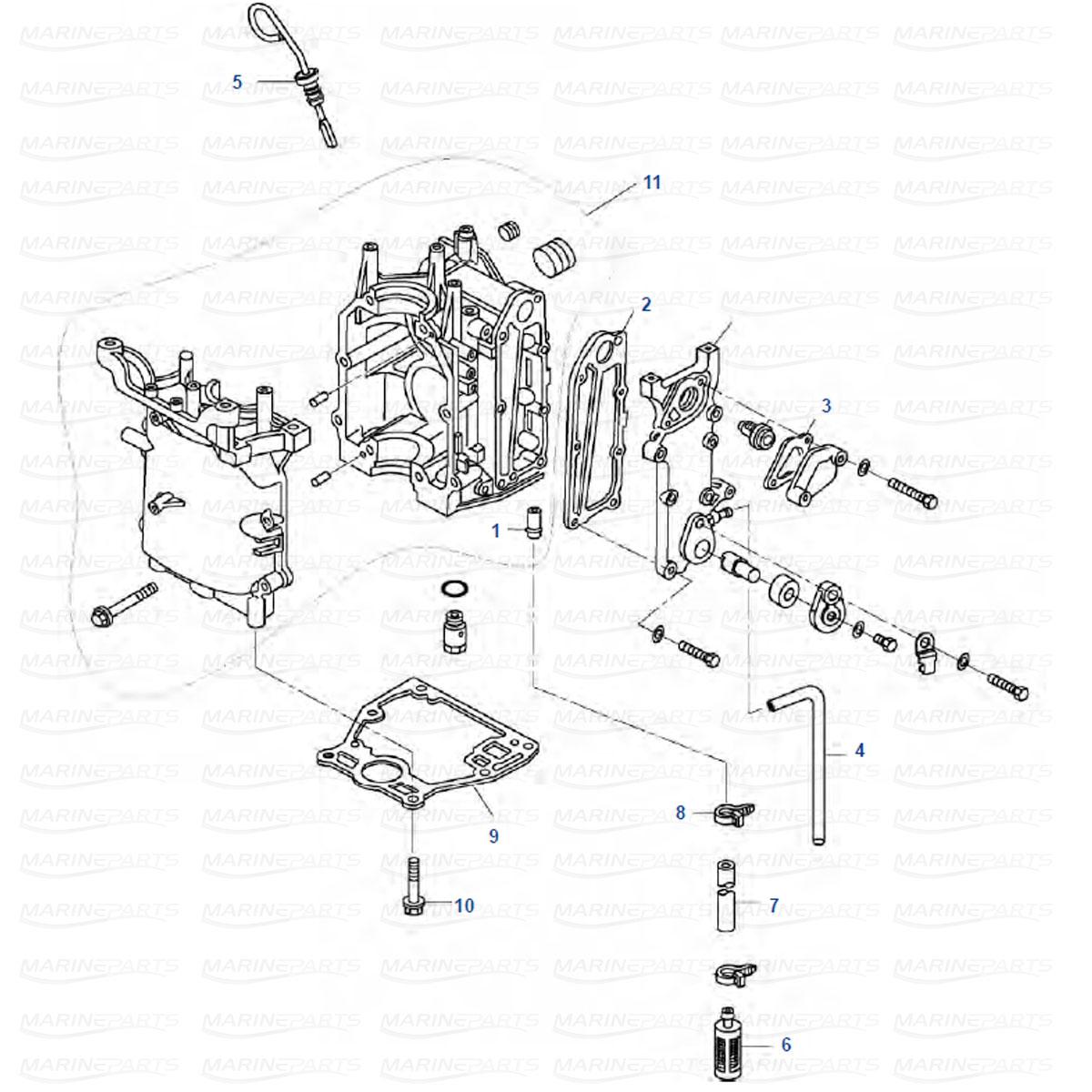 Motorblock, Tohatsu MFS8, MFS9.8