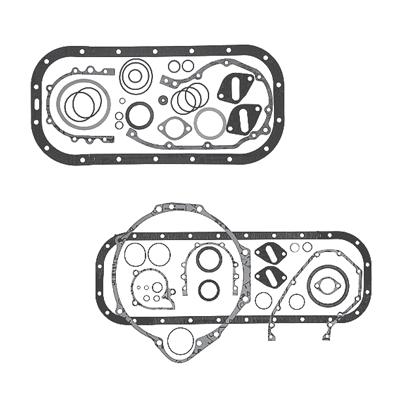 Volvo Penta bensiinimootori alumise osa tihendikomplektid