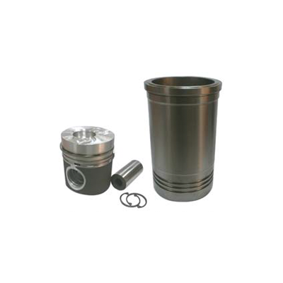 Piston and sleeves for Volvo Penta diesel engines
