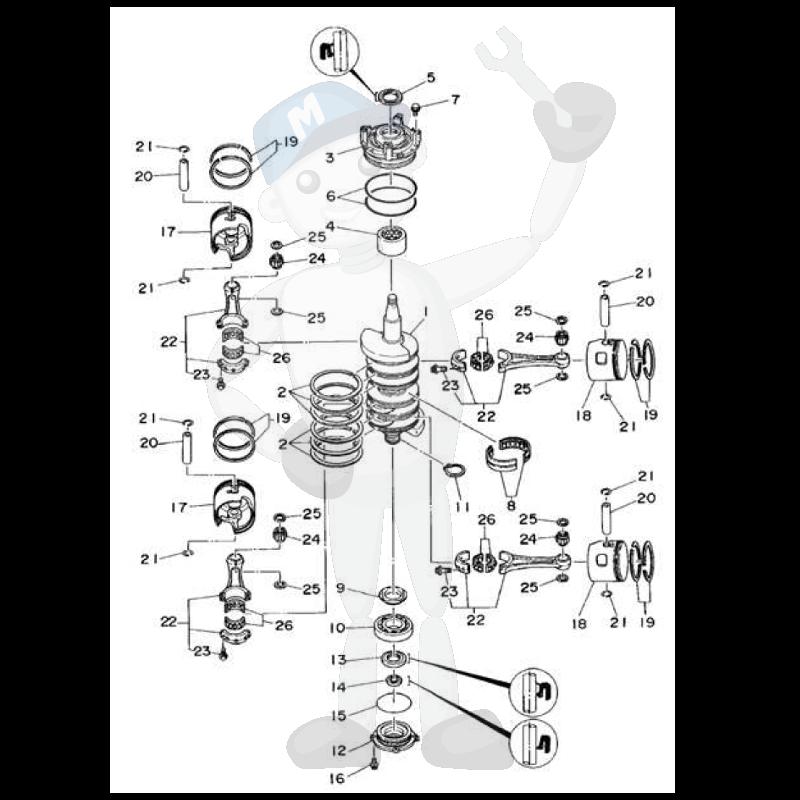 Yamaha Engine Parts For Outboard Motor Marineparts Eu