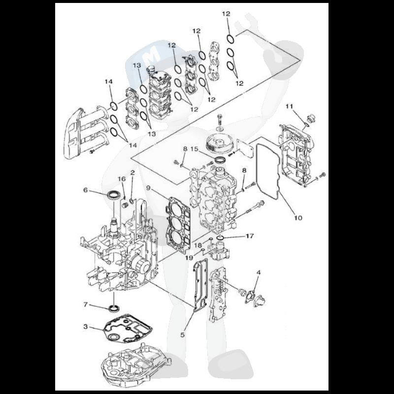 Yamaha Motordelar Till Btmotor Marineparts Sverige
