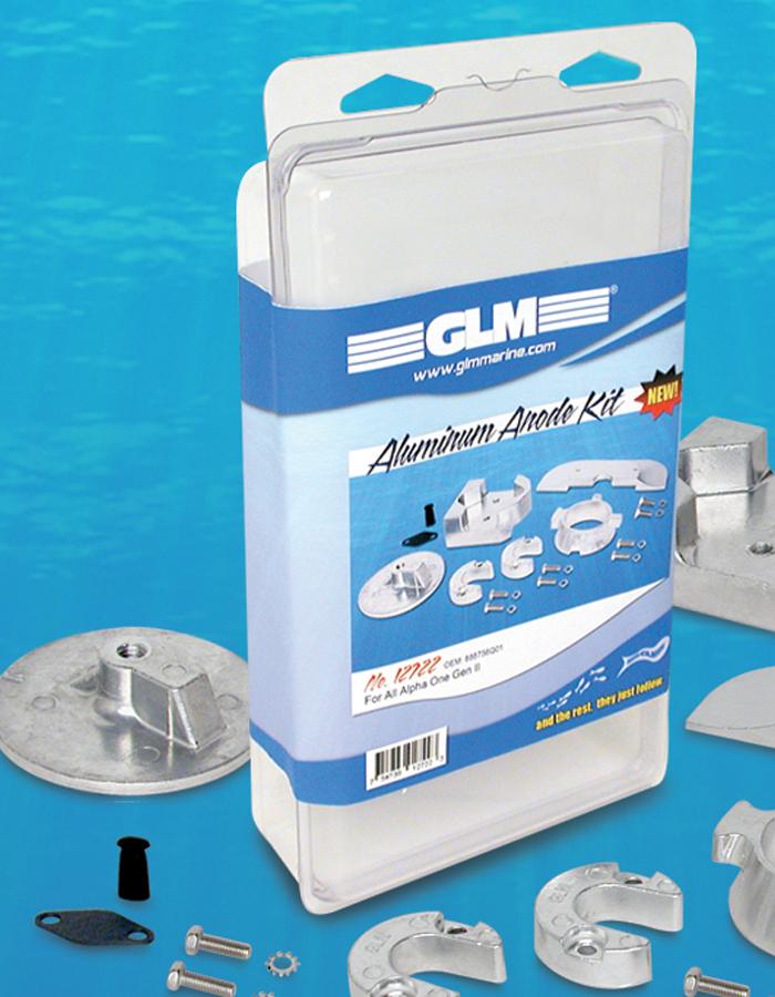 Anodsatser salt / bräckt vatten MerCruiser