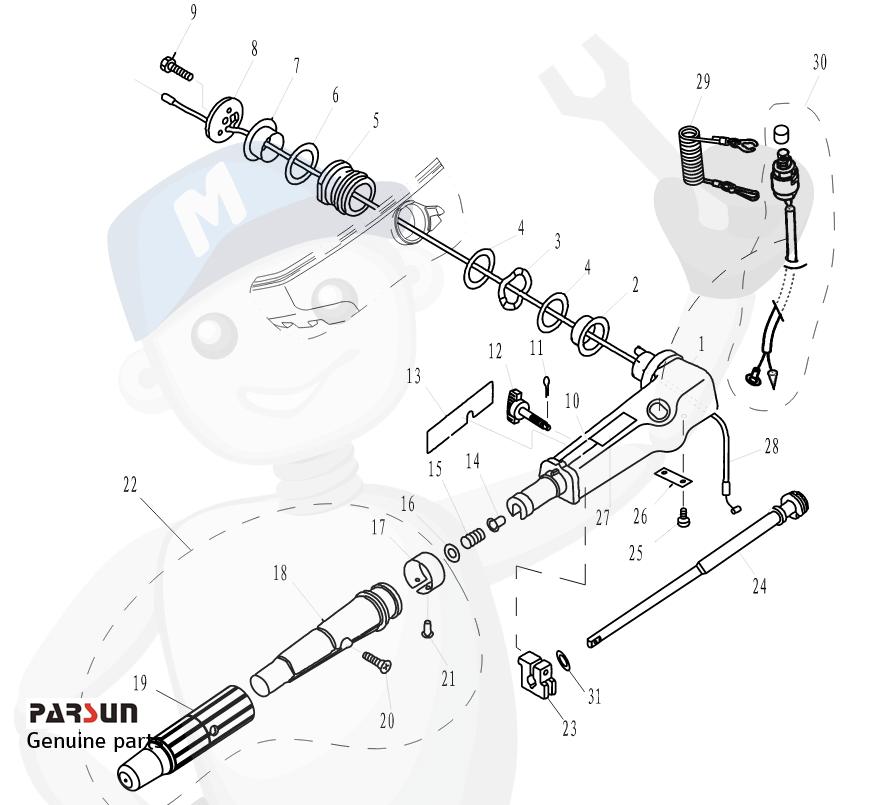 Steering handle