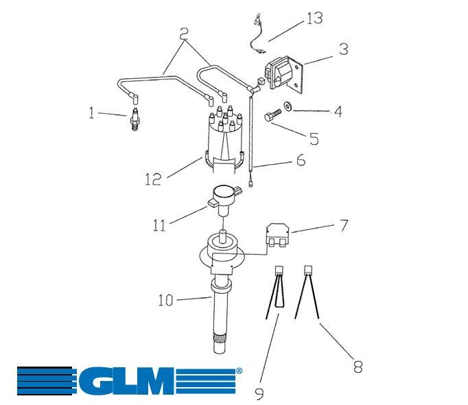 Sytytysjärjestelmä GM V6